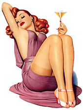 VinTaGe ImaGe HoLlyWoOd PiN-Up GlaMouR GiRls ShaBby WaTerSliDe DeCals ~So ChiC~