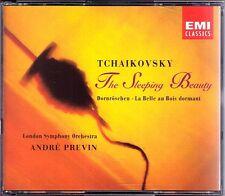Andre PREVIN: TCHAIKOVSKY The Sleeping Beauty Dornröschen 2CD London Symphony