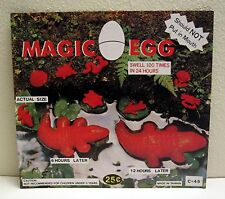 Growing Magic Egg Old Gumball Vending Machine Toy Sign