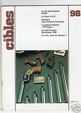 CIBLES N°98  ARMES TIR CHASSE / HUNTING ARMS