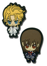 Vampire Knight Yuki and Aidou Pin Set