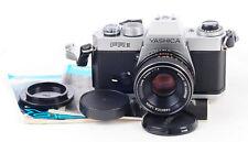 Yashica FR II 35mm Film SLR Camera Timer Faulty + Yashica 50mm F1.9 Lens (3615)