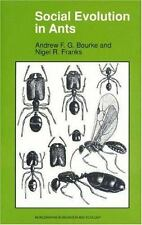 Social Evolution in Ants, Franks, Nigel R., Bourke, Andrew F.G., Very Good Books