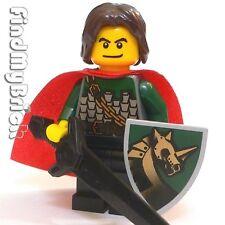 C377 Lego Castle Kingdom Unicorn Knight Hero Minifigure NEW