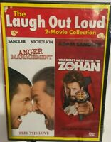 Anger Management / You Don't Mess With the Zohan  DVD, Adam Sandler