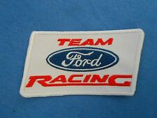 TEAM FORD RACING Patch NOS Blue Oval Uniform Jacket Mustang NASCAR NHRA SCCA New