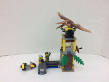 LEGO Dino Tower Takedown 5883 Complete w Pteranodon/Pteradacty, No Manual or Box