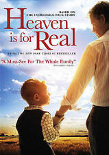 HEAVEN IS FOR REAL (DVD, 2014, Includes Digital Copy; UltraViolet) NEW