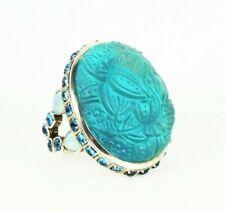 Stephen Dweck Sterling Silver Freshwater Pearls & Smoky Quartz Stretch Bracelet