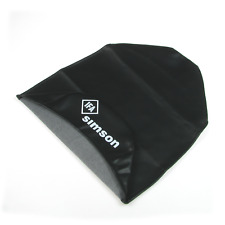 Sitzbezug wasserdicht passend für Simson S50 S51 KR51 Schwalbe - schwarz glatt