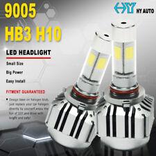9005 V8 H10 HB3 12000LM 6000K Car LED Turbo Headlight Kit 80W Driving Light Lamp
