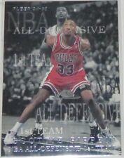 1994/95 Scottie Pippen Bulls Fleer All-Defensive 1st Team Insert Card #5of10 NM