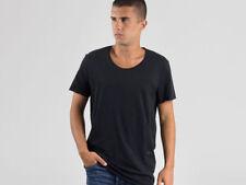 Camicie casual e maglie da uomo neri marca JACK & JONES m