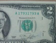 1976 $2.00 Boston FRN TRUE Repeater # A17931793A - VF/XF!