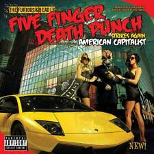 "Five Finger Death Punch - American Capitalist (NEW 2 x 12"" VINYL LP)"