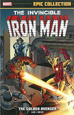Iron Man Epic Collection: The Golden Avenger by Lee, Stan -Paperback