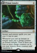 Primal Amulet / Primal Wellspring FOIL   EX+   Prerelease Promo   Magic