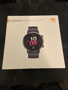 Huawei Watch GT 2 Montre Connectée GPS boîtier 42 mm avec Bracelet Sport Noir