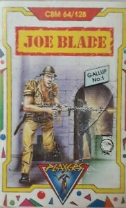 Joe Blade Commodore 64/128 Video Computer Game.1988 Players.Platform/Adventure.