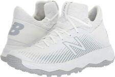 New Balance Men's Freeze V2 Box Agility Lacrosse Shoe, White, Size 15.0