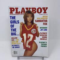 Playboy Magazine October 1996 Girls of the Big 12, Jay Leno Interview