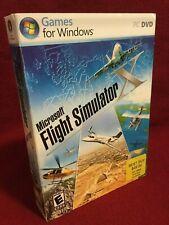 Microsoft Flight Simulator X Game Standard DVD PC New Factory Sealed Unopened NM