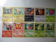 10 Pokemon Cards Mixed Lot - HP 50 - English - Common - Mint - FREE Shipping