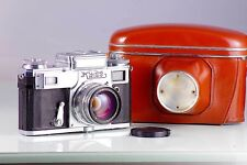CLASSIC RANGEFINDER RUSIA KIEV 4A + JUPITER-8M 2/53 CLA TESTED EXCELENT+ TYPE 3