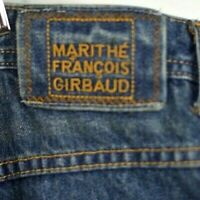 Marithe Francois Girbaud:: Jeans 42/34 Distressed Blue Baggy MFG Hip Hop Mens