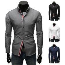 Vêtements chemises décontractées pour homme