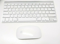 OEM Apple Magic Wireless Keyboard A1314 & Magic Mouse (A1296) w/ Batteries