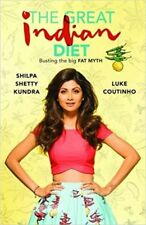 THE GREAT INDIAN DIET by SHILPA SHETTY KUNDRA (ENGLISH) ~ BOOK