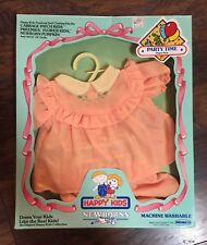 New Vtg 1983 Remco Happy Kids Newborns Party Time Doll Outfit Fits 12�-14� Dolls