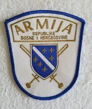 Bosnia Army - Armija Republike Bosne I Hercegovine Patch