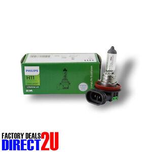 Genuine PHILIPS Eco Vision Headlight Fog Light Bulb H11 12V 55W - Single Box