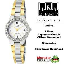AUSSIE SELER LADIES DRESS WATCH CITIZEN MADE 2-TONE Q691J404 DIAMANTES WARRANTY