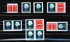 Nederland Stockkaart Combinaties uit Postzegelboekje 8f Postfris