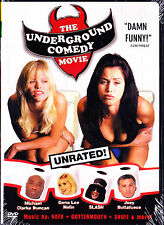 THE UNDERGROUND COMEDY MOVIE  MICHAEL CLARKE DUNCAN GENA LEE NOLIN SLASH New DVD