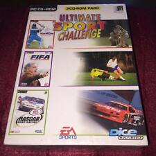 Ultimate sport challenge pour PC NASCAR ROAD RACING, FIFA Soccer Management nouveau