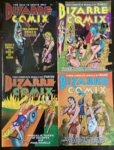 Bizarre Comix, Issues #1-6. Good Condition.