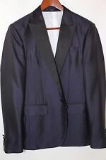 Dsquared2 Beverly Hills 100% Silk Single Button Evening Jacket Size 38  $2,235