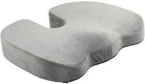 Premium Orthopedic Foam Coccyx Seat Cushion Tailbone Pain, Sciatica Back