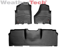 WeatherTech DigitalFit FloorLiner - Dodge Ram 2500/3500 Mega - 2010-2012 -Black