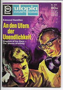 Utopia Zukunftsromane Nr.571 - TOP Z1 ORIGINAL Science Fiction-Romanheft PABEL