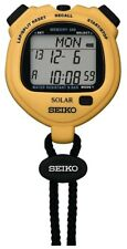 SEIKO Watch SOLER STANDARD SVAJ003 Stopwatch Genuine Yellow 2.2oz With Tracking