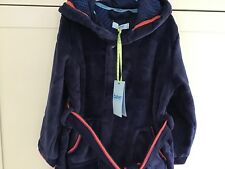 ee808ee17796 Ted Baker New Boys Blue Embossed B Dressing Gown Age 7 8 Hooded Luxury