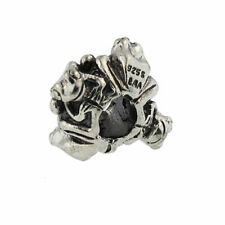 Authentic Trollbeads Sterling Silver 11430 Four Frogs Big *0