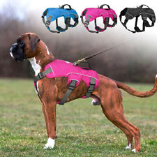 No Pull Pet Dog Harness Heavy Duty Mesh Training Vest for Medium Large Dogs S-L