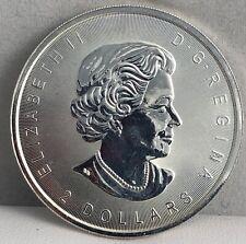 2016 Canada 3/4 oz .9999 Silver Bullion Coin Howling Wolves Queen Elizabeth BU