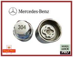 New Mercedes Benz Locking Wheel Nut Key Number 304 - UK Seller